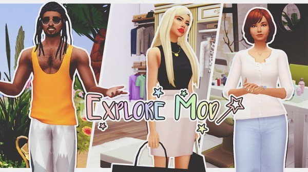 Things to do in Explore mod Sims 4