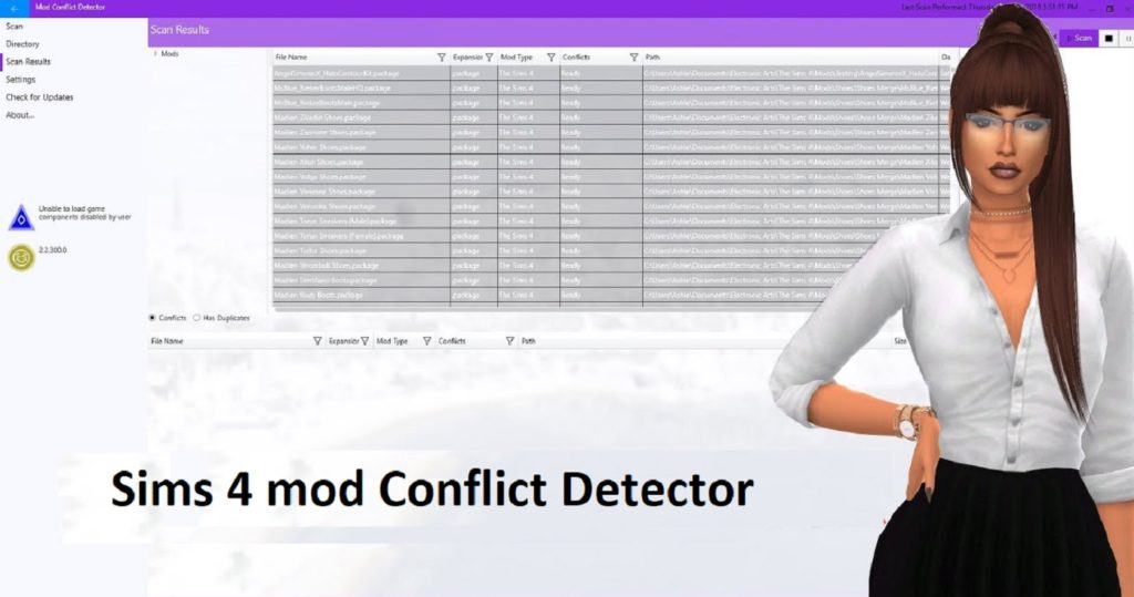 Sims 4 mod Conflict Detector | ts4 package Download