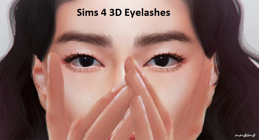 Sims 4 3d Eyelashes | CC - Download  Updated